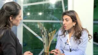 Helen Al Uzaizi of Mowgli Foundation, the Winner of the Young Business Leaders Award