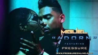 Miguel - Adorn ft. Pressure (Remix) (Official Video)