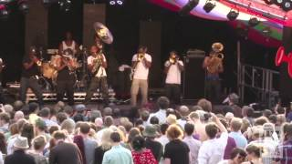 Hypnotic Brass Ensemble -  War - Mostly Jazz Festival 2013