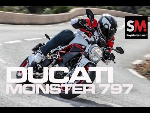 Ducati Monster 797 2017: Prueba Naked [FULLHD]