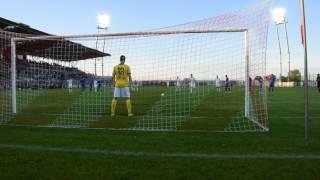 Fot Video  Maciej Sztajnert Piłka nożna Nice 1 Liga Pogoń Siedlce   Podbeskidzie Bielsko Biała 3;0 s