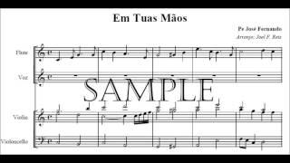 Em Tuas mãos, Paulo Silva (instrumental/partitura)