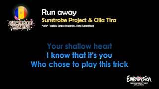 """Sunstroke Project & Olia Tira - """"Run Away"""" (Moldova) - [Karaoke version]"""