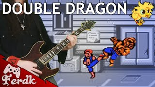 Double Dragon Theme (NES) 【Metal Guitar Cover】 by Ferdk