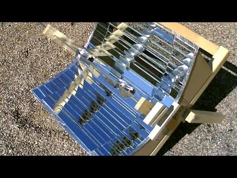 DIY Solar Cooker! - Fully Mirrorized! (w/glass mirror conversion!) - Cooks Great! $14 - Easy DIY