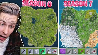 So sah FORTNITE SEASON 0 Gameplay aus!