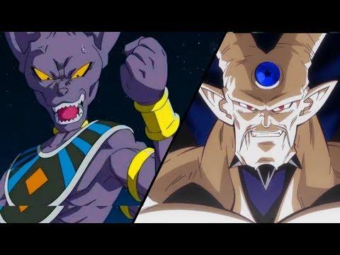 Gods of Destruction vs Shadow Dragons Power Levels