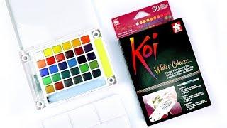 Sakura Koi Watercolor | Art Supply Review