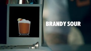 BRANDY SOUR DRINK RECIPE - HOW TO MIX
