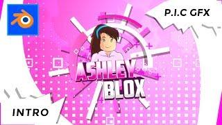 Youtube Intro Template - AshleyBlox | Roblox | Minecraft