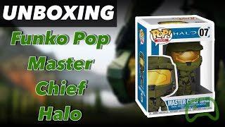 Unboxing Funko Pop Master Chief Halo en Español (MX) - 1080p 60fps