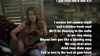 Love You Like A Country Song (original) CJaye LeRose