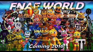 All FNAF World Characters Sing The FNAF Song