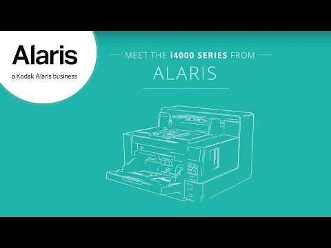 Ventaja insuperable | Serie i4000, Capture Pro y servicios | Alaris Information Management Preview