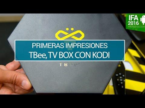 TBee, probamos la TV Box basada en Kodi