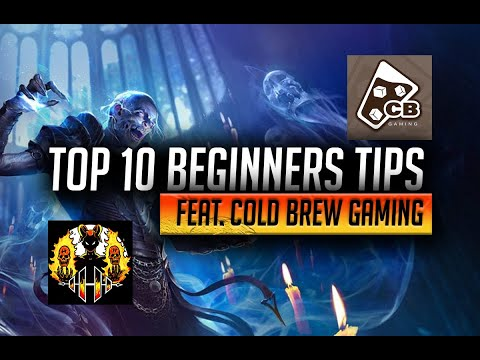 RAID: Shadow Legends | Top 10 Beginners Tips every new player should know Feat: Cold Brew Gaming!