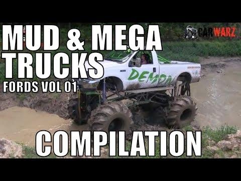 FORD MUD & MEGA TRUCK MUD COMPILATION 2018 VOL 01