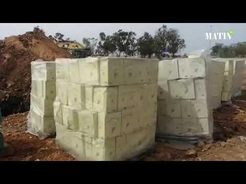 Video : Destruction d'une importante quantité d'alcool à Had Soualem