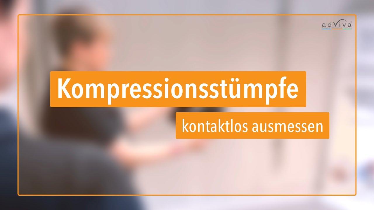 Kompressionsstrümpfe - kontaktlos bestellen