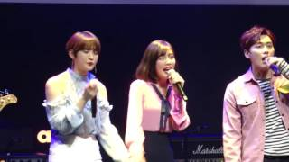 Im okay ost live~red velvet joy for the liar and his lover cast concert (mush&co. and crude play )