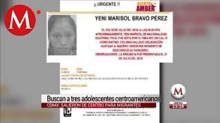 ALERTA AMBER,  tres menores desaparecen en la misma calle de CdMx