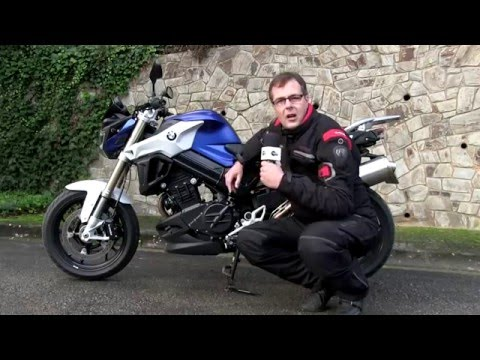 Motos X 1000 : Test  BMW F800R