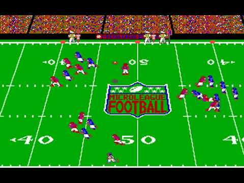 MicroLeague Football: The Coach's Challenge (MicroLeague Sports Associates) (MS-DOS) [1990]