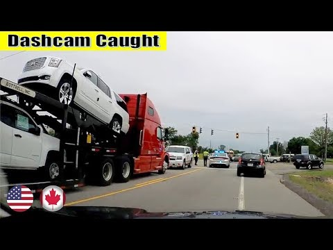 Ultimate North American Car Driving Fails Compilation: The One Where Truck Rear Ends Toyota