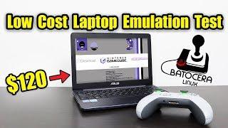 Low Cost Laptop Emulation Test Using Batocera Linux