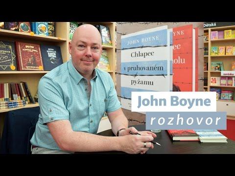 John Boyne: Rozhovor pro Martinus