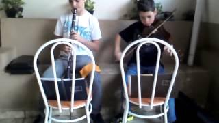 clarinete x violino