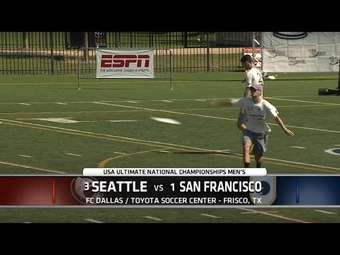Video Thumbnail: 2015 National Championships: Men's Final: San Francisco Revolver vs. Seattle Sockeye