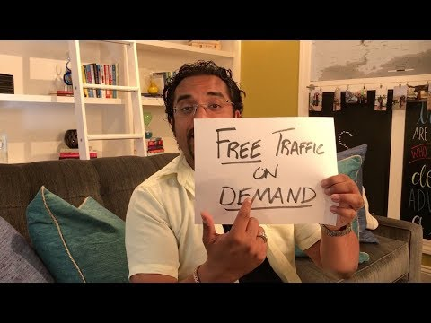 How To Generate FREE Traffic On Demand!