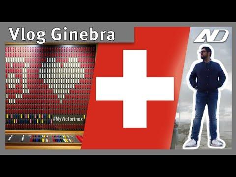 Los coches, lujos y cosas raras de Ginebra - Vlog Gabo Salazar