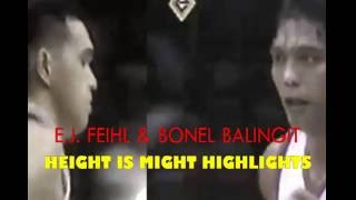 E.J. Feihl-Bonel Balingit-Height Is Might Highlights