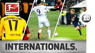 Top 10 Goals - Best of International Stars in 2016/17 So Far...