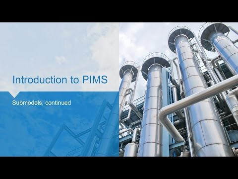 Aspen PIMS How-To 07 - Submodels continued