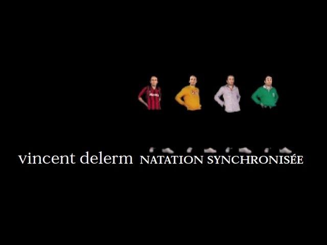Videoclip oficial de 'La Natation Synchronisée' de Vincent Delerm.