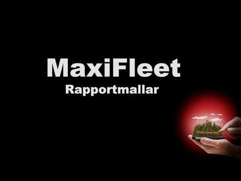 Komatsu MaxiFleet - Rapportmallar