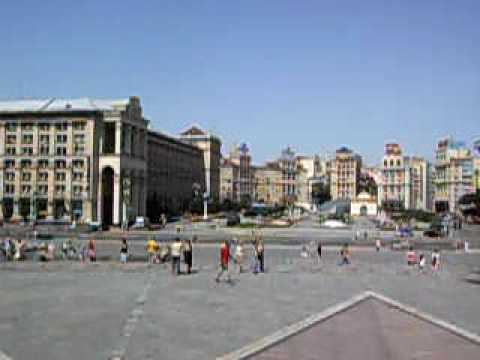 View from Statue on Square