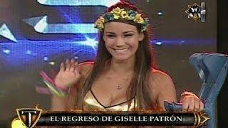 Giselle Patrón saludó el apoyo del público tras su lesión en Titanes