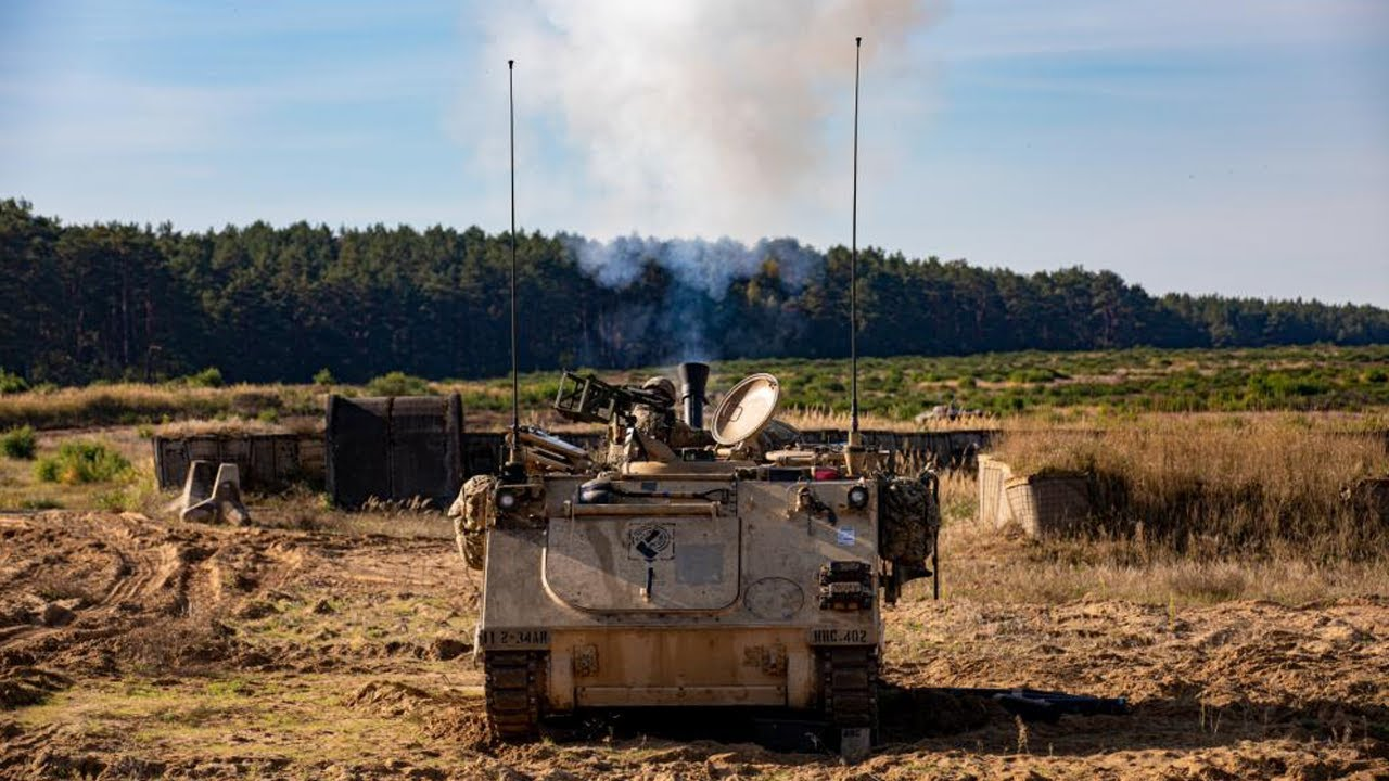 US Soldiers • Mortar & Cavalry Scout Platoons • Live Fire • Poland, Oct. 3, 2021