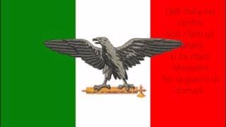 Giovinezza - Italian Social Republic Anthem
