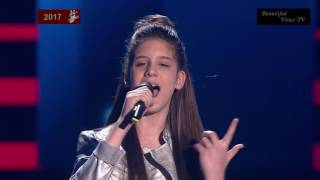 Sia - 'Unstoppable'. Iveta. The Voice Kids Russia 2017.