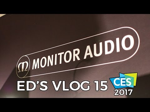 Monitor Audio Interview on Ed's VLOG from CES 2017