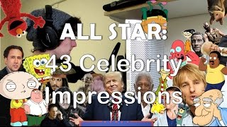All Star But It's 43 Celebrity Impressions