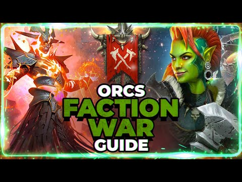 ORCS Faction Guide! Stage 21 Full Auto 3 Star! Raid Shadow Legends
