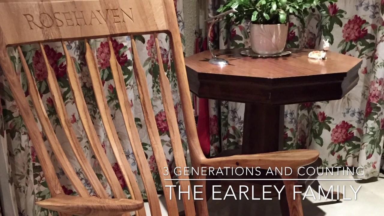 Making a Sam Maloof inspired Rocking Chair