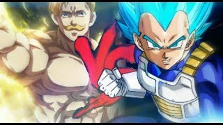 Escanor Vs. Vegeta|Confronto dos Mitos Feat Reverso Beats