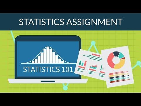 Statistics 101 - Statistics Assignment